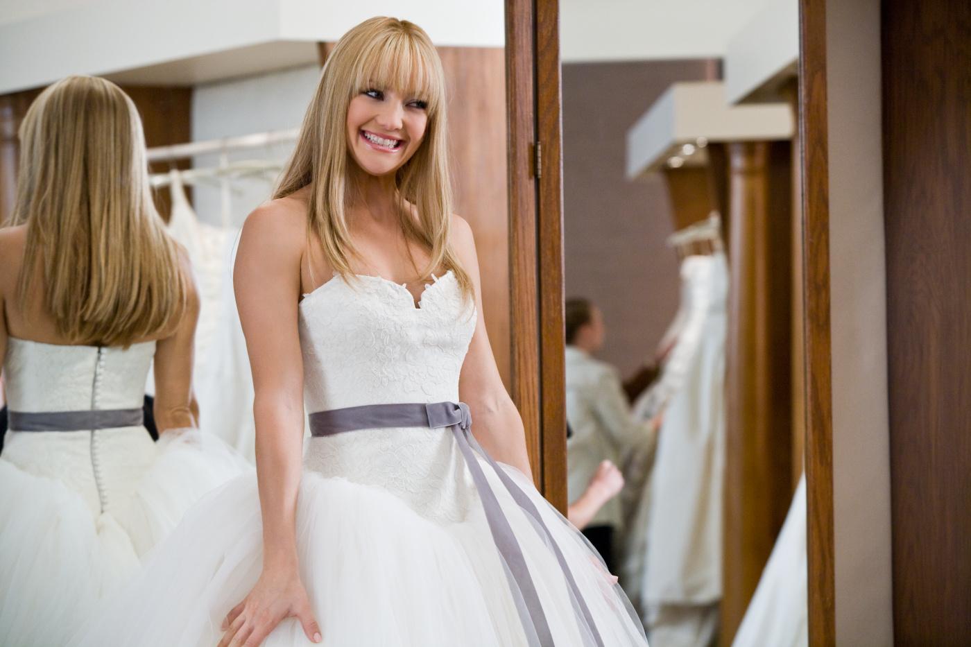 bröllopsduellen klänning