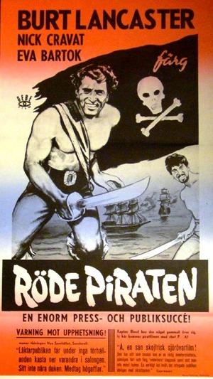 Röde piraten poster