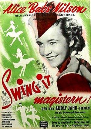 Swing it, magistern poster