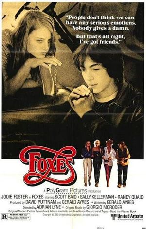 Foxes - Tjejmaffian poster