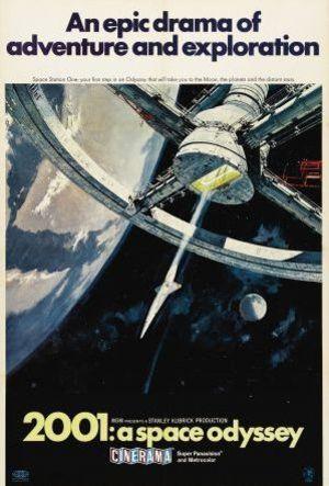 År 2001 - Ett rymdäventyr poster