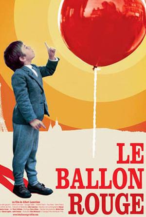 Den röda ballongen poster