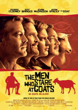 Men Who Stare at Goats poster
