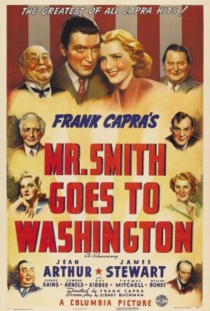 Mr Smith i Washington poster