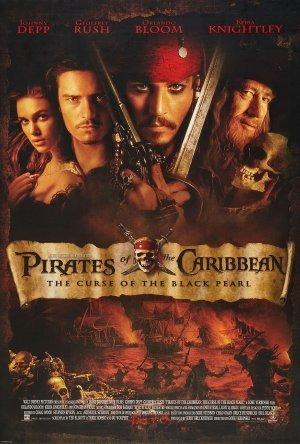 Pirates of the Caribbean: Svarta Pärlans förbannelse poster