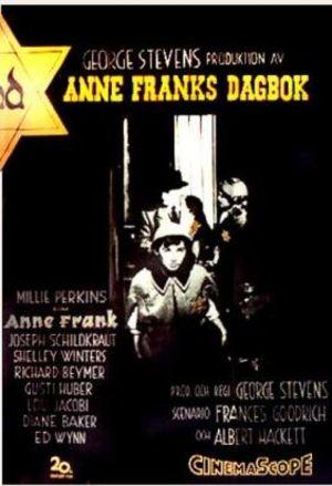 Anne Franks dagbok poster