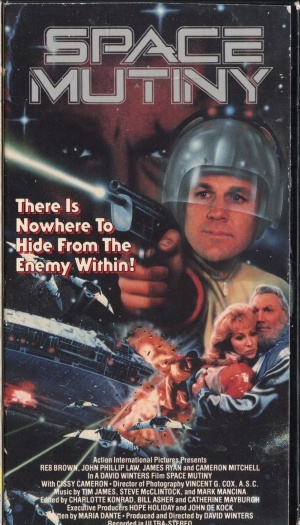 Space Mutiny poster