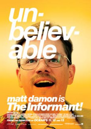 The Informant poster
