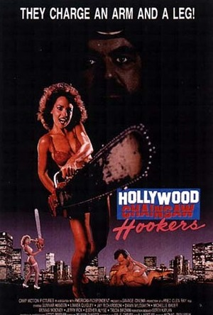 Hollywood Chainsaw Hookers poster