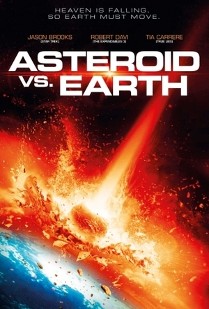 Asteroid vs. Earth poster