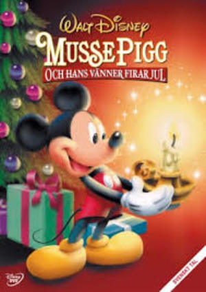 Musse Pigg och hans vänner firar jul poster