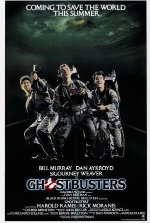 Ghostbusters - Spökligan poster