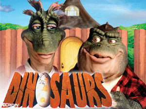 Dinosaurier poster