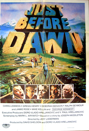 Just Before Dawn poster