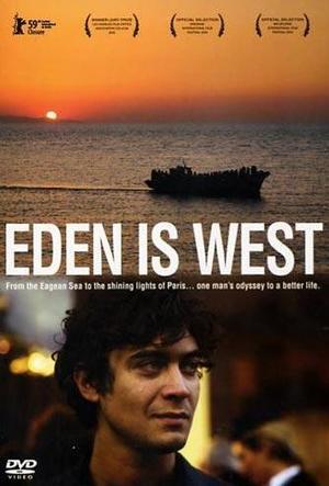 Eden is west poster