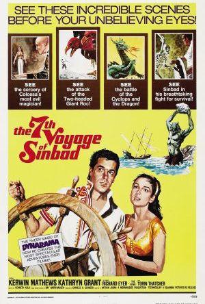 Sinbads tusen äventyr poster