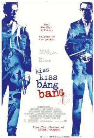 Kiss Kiss Bang Bang poster