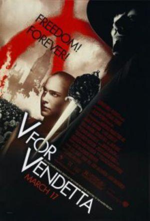 V för Vendetta poster