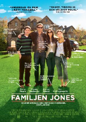 Familjen Jones poster