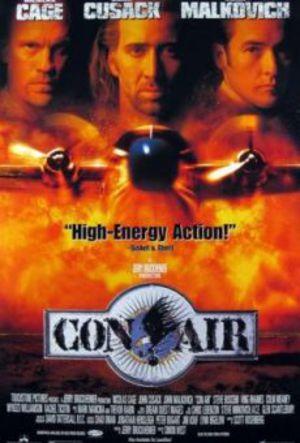 Con Air poster