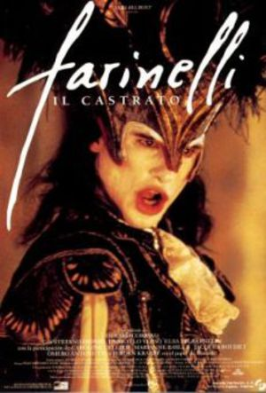 Farinelli - Kastratsångaren poster
