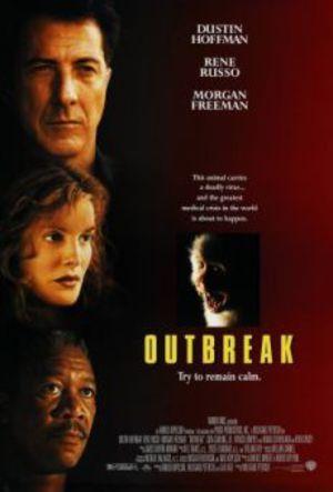 Outbreak - i farozonen poster
