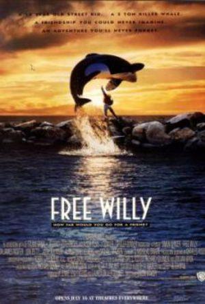 Rädda Willy poster