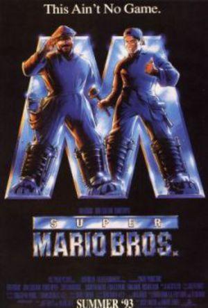 Super Mario Bros poster