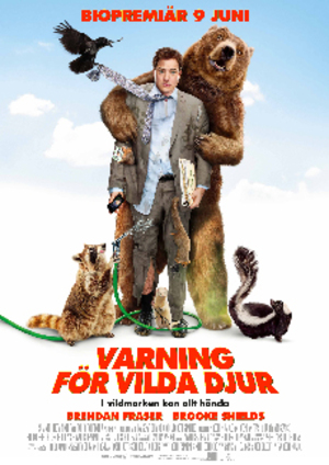 Varning för vilda djur poster