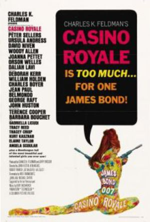 Casino Royale - James Bond 007 poster