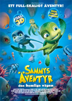 Sammys äventyr - den hemliga vägen poster