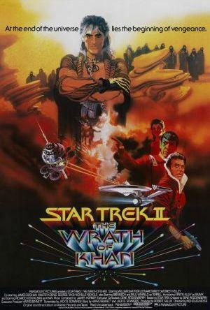 Star Trek II - Khans vrede poster
