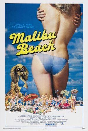 Gänget drar till Malibu Beach poster