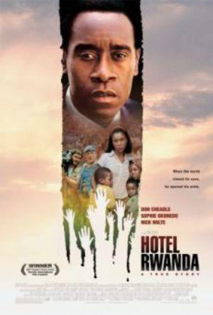 Hotell Rwanda poster
