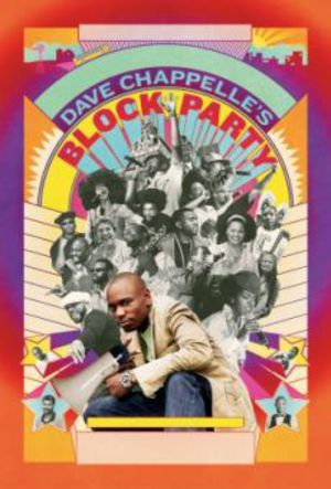 Dave Chapelles Block Party poster