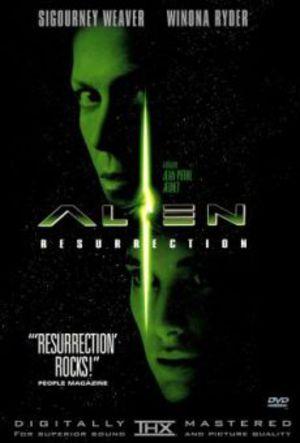 Alien återuppstår poster