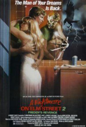Terror på Elm Street 2 - Freddys hämnd poster