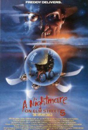 Terror på Elm Street 5 poster