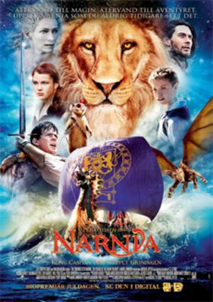 Narnia: Kung Caspian och skeppet Gryningen poster