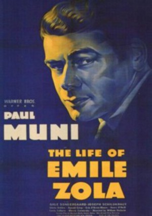 The Life of Emile Zola poster