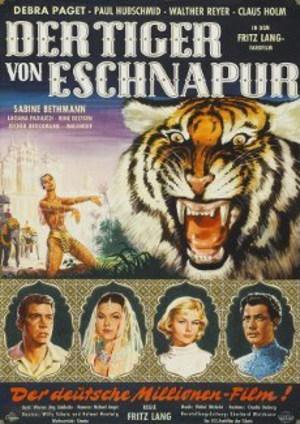 Tigern från Bengalen poster