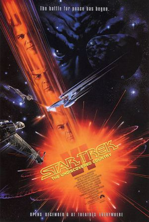 Star Trek VI - The Undiscovered Country poster