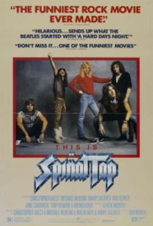 Spinal Tap poster