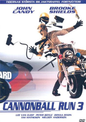 Cannonball Run 3 poster