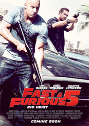 Fast and Furious 5 poster