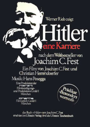 Hitler - A Career poster