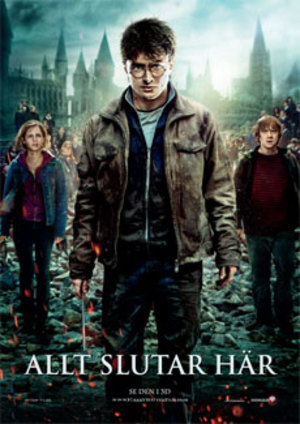 Harry Potter och dödsrelikerna: del 2 poster