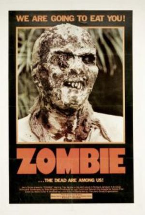 Zombie flesh eaters poster