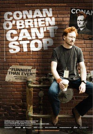 Conan O'Brien Can't Stop poster