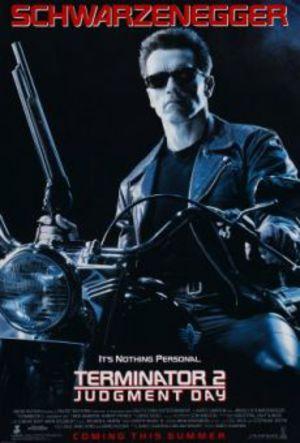 Terminator 2: Domedagen poster